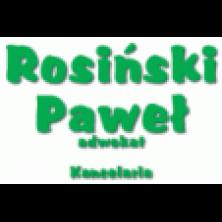 Rosiński Paweł, adwokat. Kancelaria
