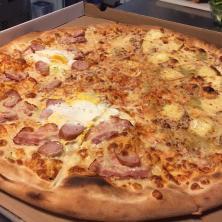 Mechanizm Kręcenia Pizza Nocą Restauracja Warszawa