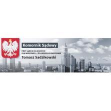 Tomasz Sadzikowski Komornik Sądowy
